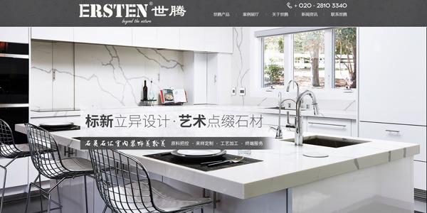 热烈祝贺世腾中文网站上线!